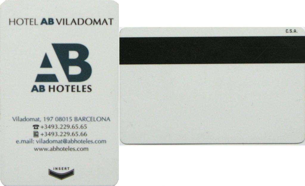 Hotel room card